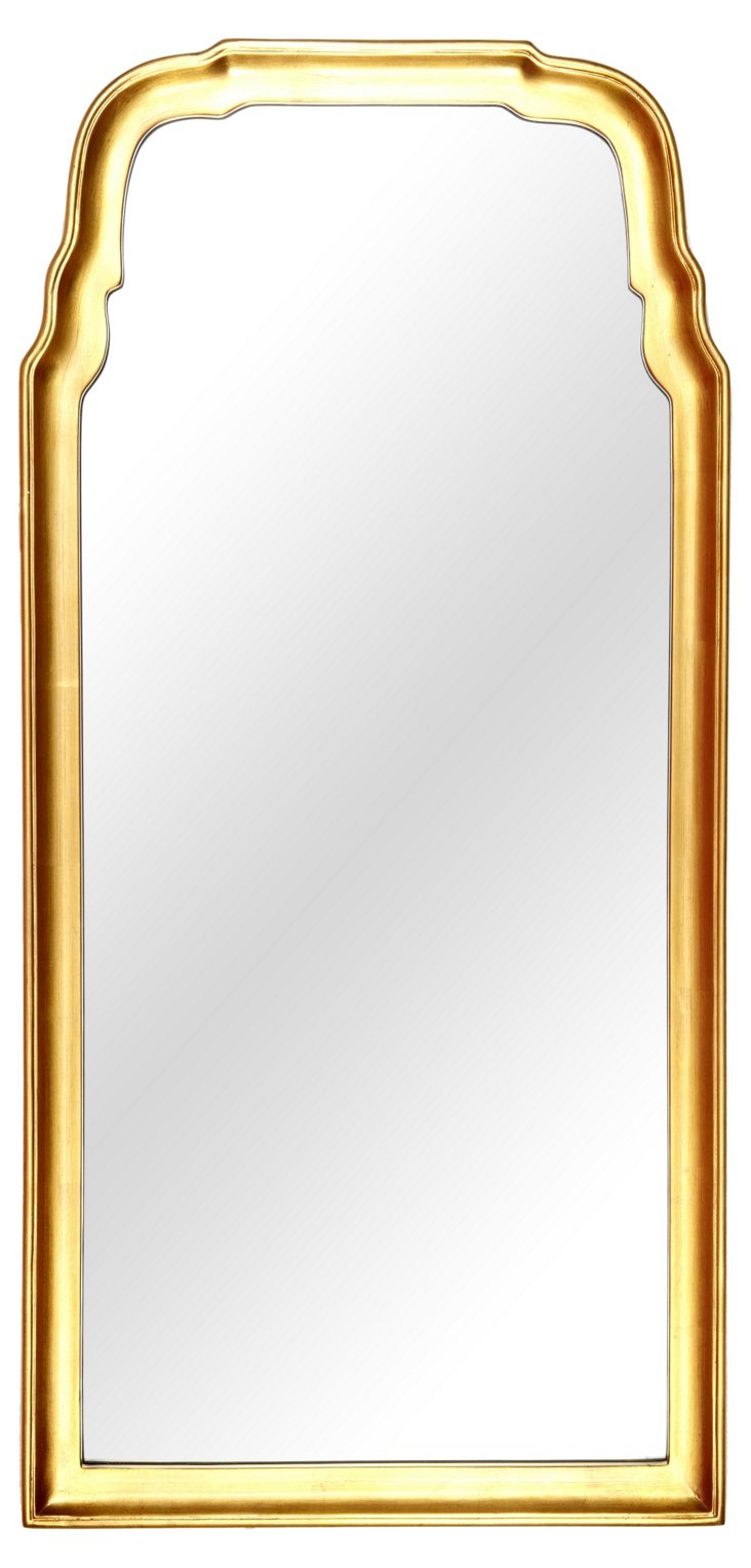 Midcentury Mirror, Gold