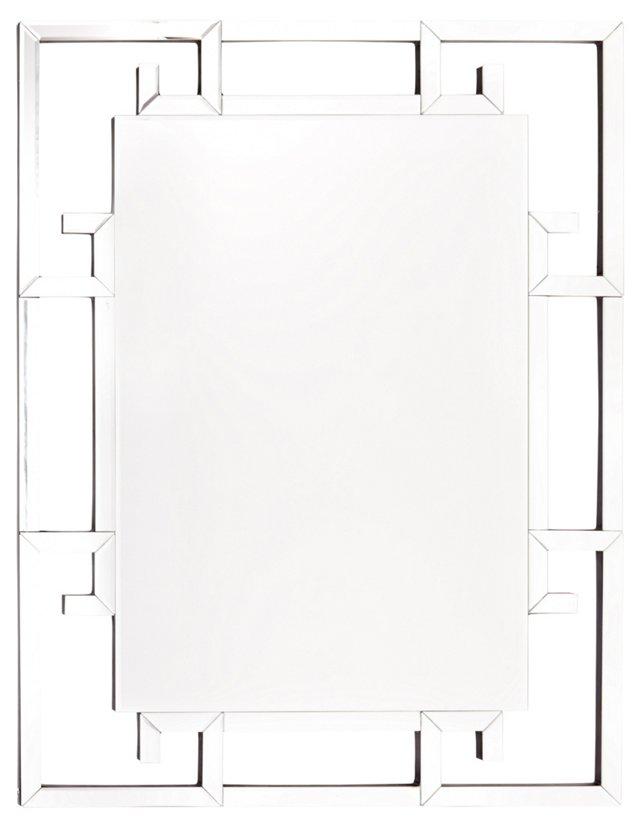 Serres Oversize Mirror, Clear