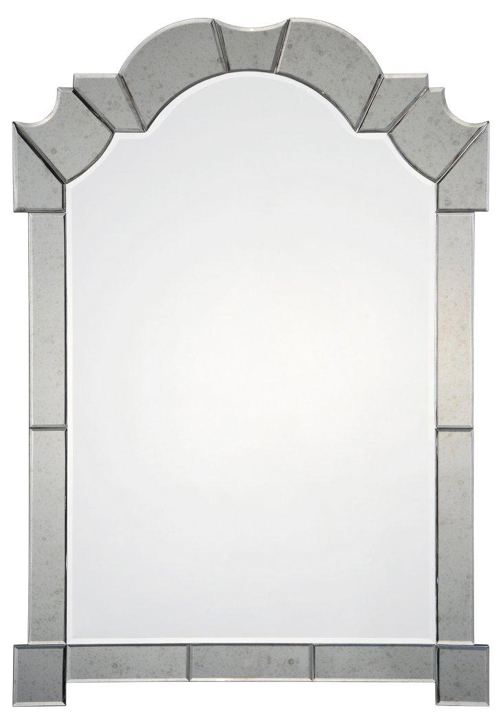 Lynnville Oversize Mirror, Clear