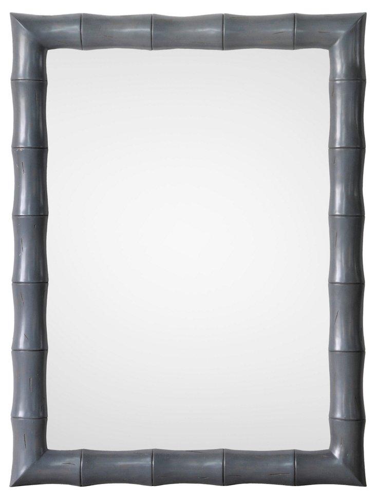 Belinda Oversize Mirror, Graphite