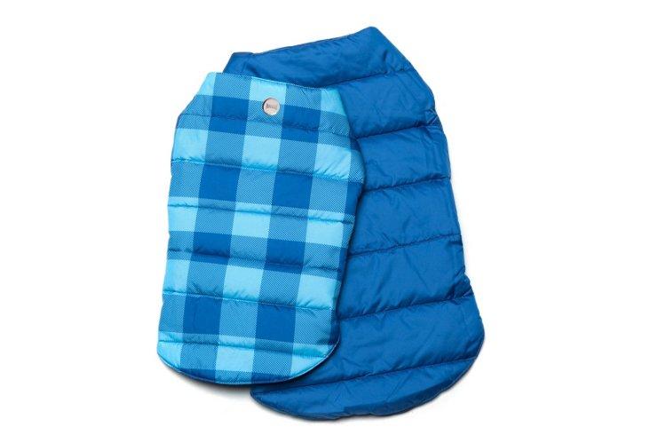 XS Reversible Puffer Jacket, Blue