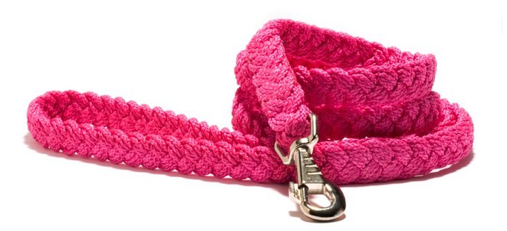 Sailor's Knot Leash, Pink