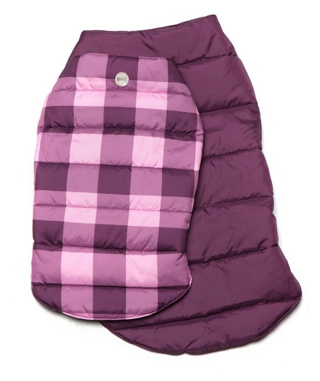 Reversible Puffer Jacket, Pink/Plum