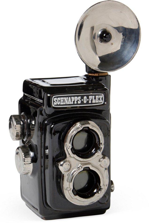 Schnapps-O-Flex Camera Decanter