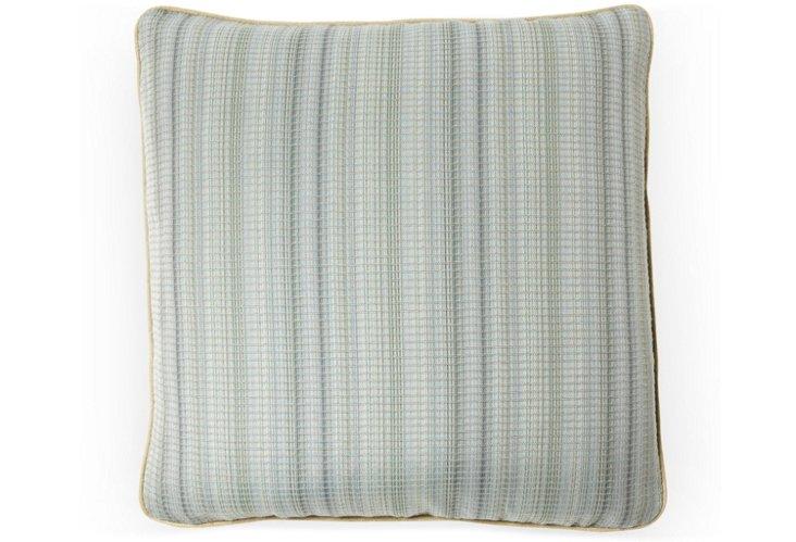 Equestrian Stripe 20x20 Pillow, Grass