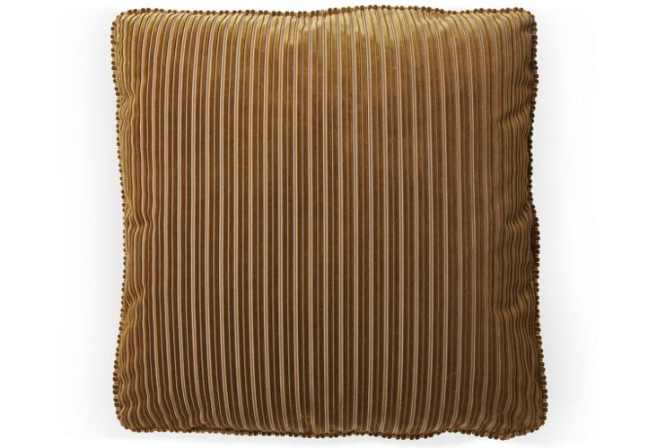 Bordeaux 20x20 Pillow, Butterscotch