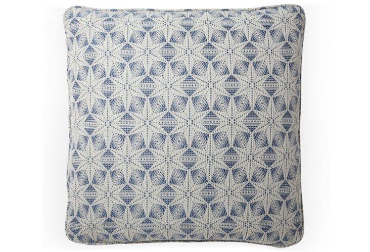 Polaris 20x20 Pillow, Sea Blue