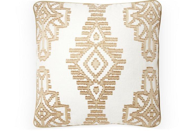 Tikal 20x20 Pillow, Clay