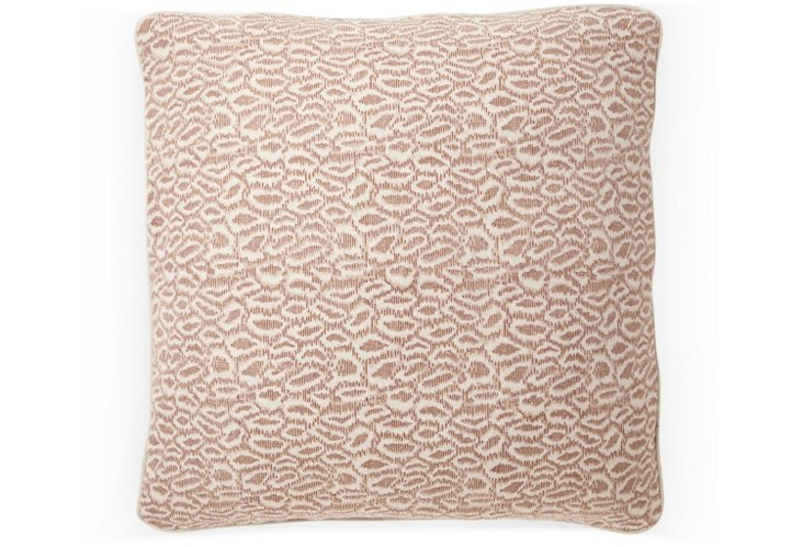 Indian Ice 20x20 Pillow, Brown