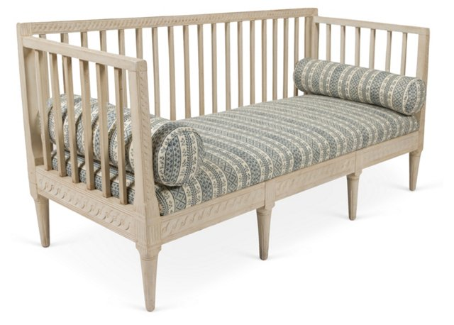 Gustavian Sofa Bench