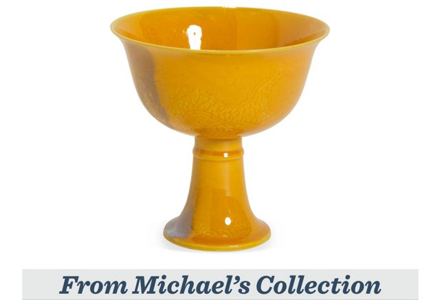Imperial Yellow Libation Cup