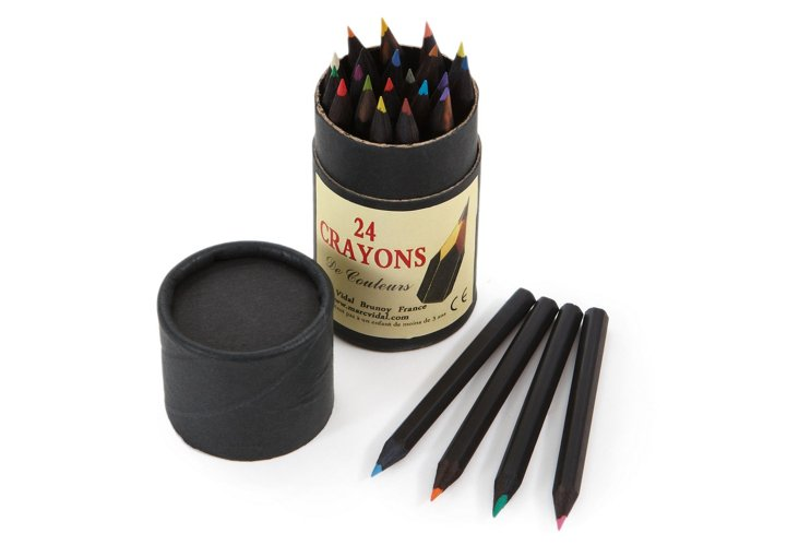 S/2 Tubes of 24 Colored Pencils