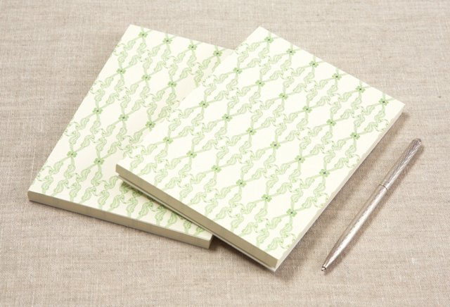 S/2 Seahorse Notepads with Printed Pages