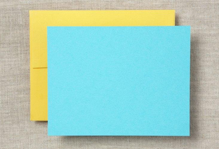 S/20 Note Cards & Envelopes, Caribbean
