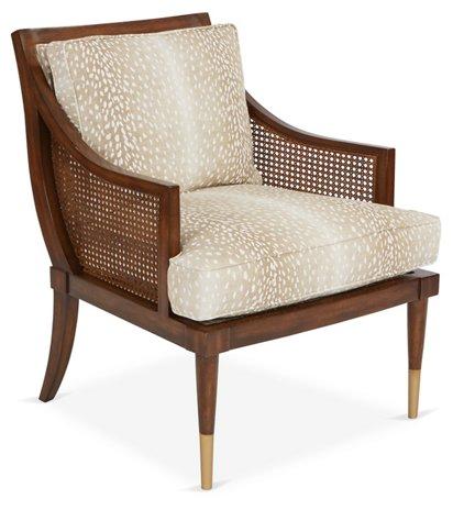 Magnificent Kirkwood Accent Chair Fawn Linen Short Links Chair Design For Home Short Linksinfo