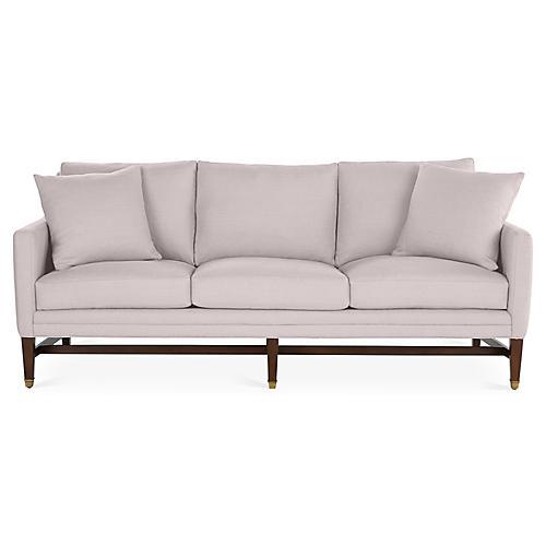Arden Sofa, Quartz Linen
