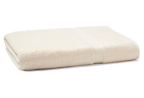 Bath Sheet, Cream