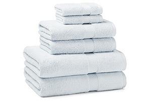 6-Pc Towel Set, Sky