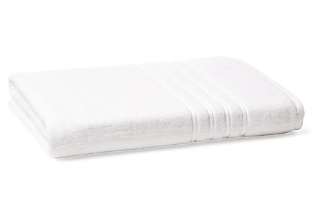 Alessio Bath Sheet, White