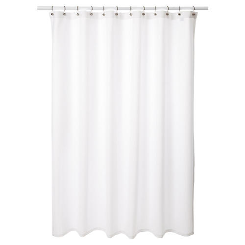 Tenaro Shower Curtain, White
