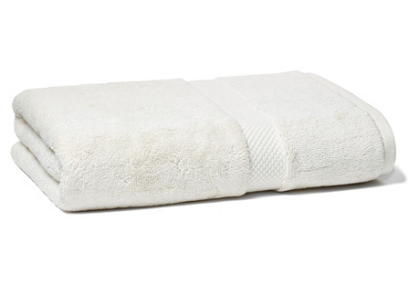 Merano Bath Towel, Cream