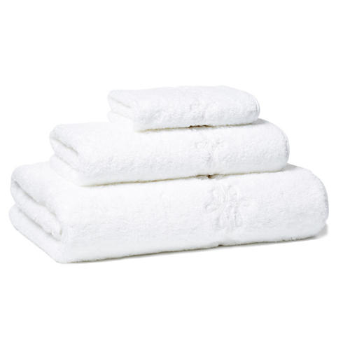 Bernini 3-Pc Towel Set, White