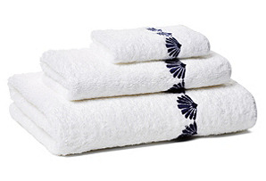 Cardita 3-Pc Towel Set, Navy