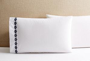 S/2 Cardita Pillowcases, Navy