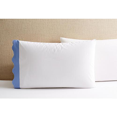 S/2 Katarina Pillowcases, Azure