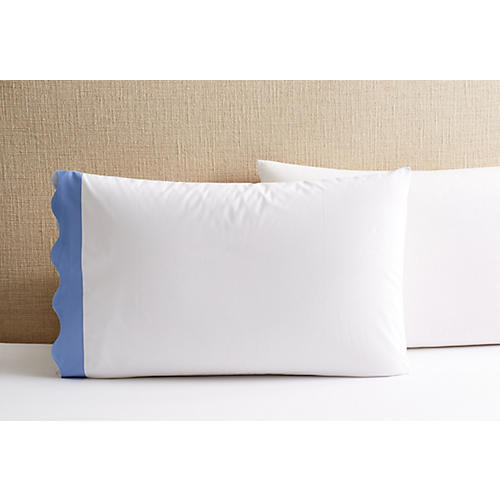 S/2 Katarina Pillowcases, Azure