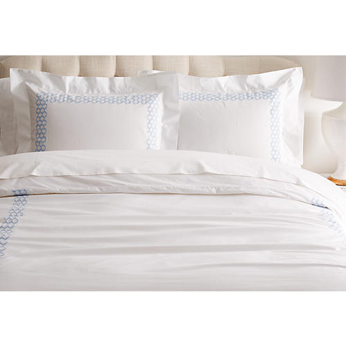 Cleo Duvet Set, Blue