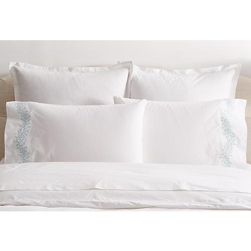 S/2 Odessa Standard Pillowcases, Opal