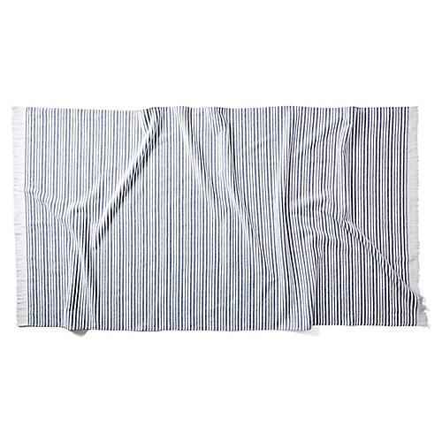 Aveiro Beach Towel, Navy