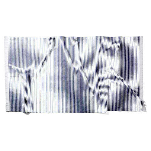 Aveiro Beach Towel, Navy