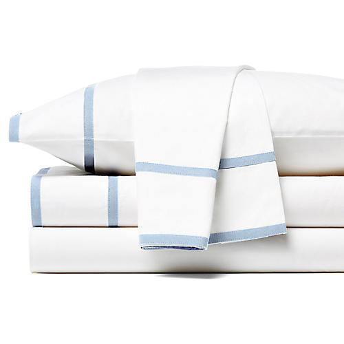 Collana Sheet Set, Light Blue
