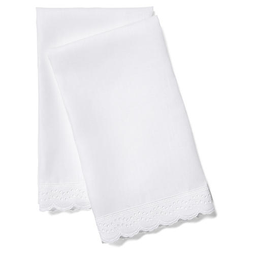 2-Pc Marilla Guest Towel Set, White