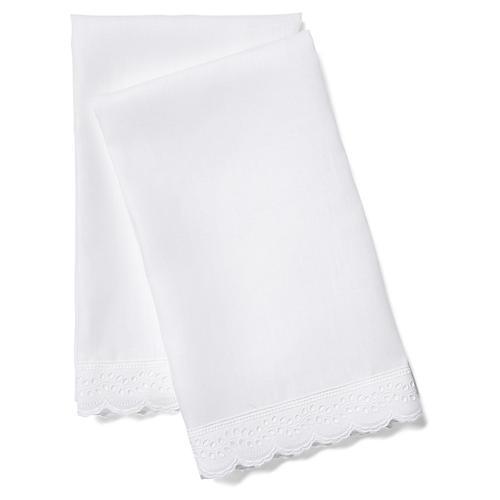 2-Pc Marilla Guest Towel Set, White