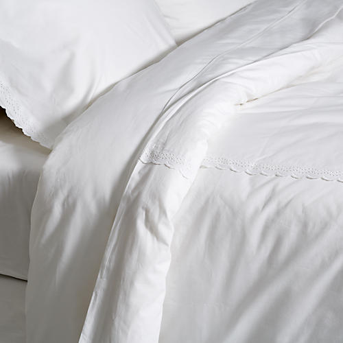 Marilla Duvet Set, White