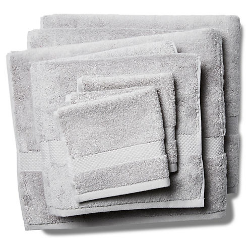 6-Pc Merano Towel Set, Smoke