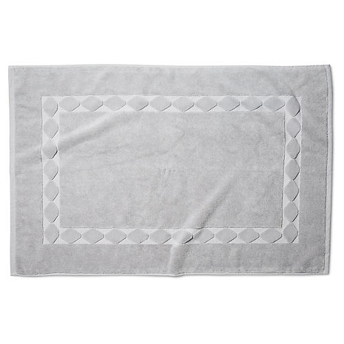 Merano Bath Mat, Smoke