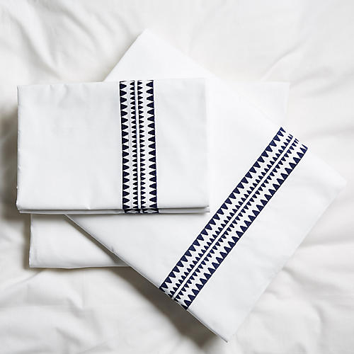Seychelles Sheet Set, Navy