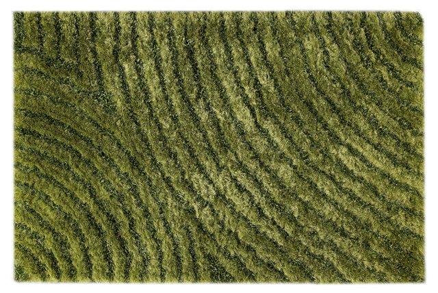Tweed Rug, Green
