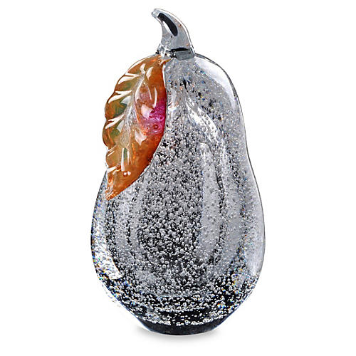 Art Glass Pear Figurines