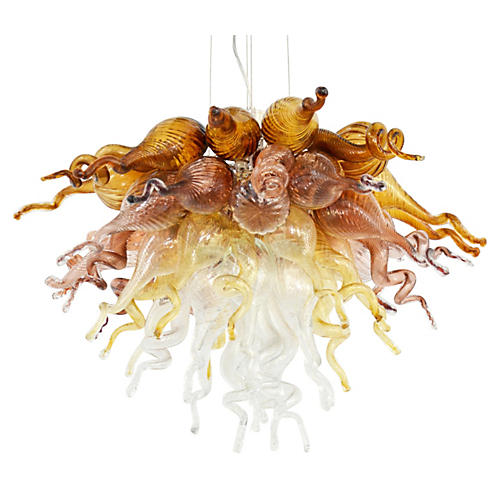 Exclusive Simone Ombre Chandelier