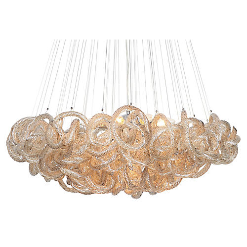 Infinity Chandelier, Champagne