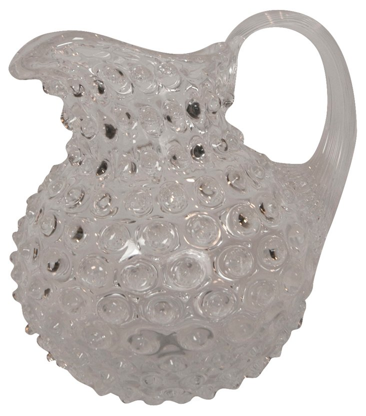 Czech Diamond Pitcher