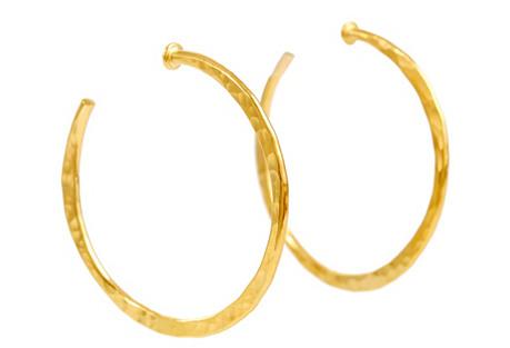 Classic Large Hoop Earrings