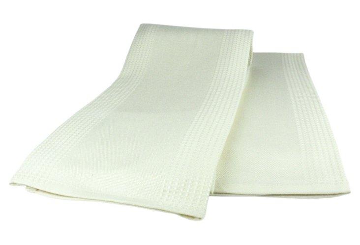S/4 Mubamboo Dish Towels, Natural