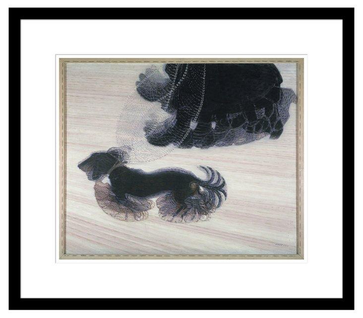 Balla, Dynamism of a Dog on a Leash 1912