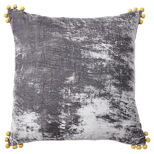 Omni 24x24 Pillow, Gray